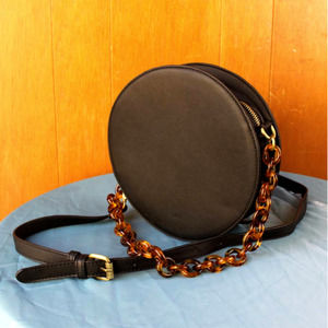 Anthropologie Circle Shoulder Bag with Chain